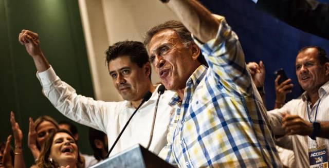 Miguel Ángel Yunes, candidato del PAN en Veracruz.