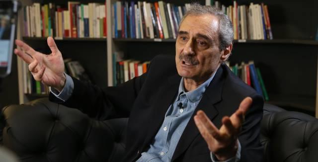 Ángel Cappa, en la redacción de EL PAÍS.