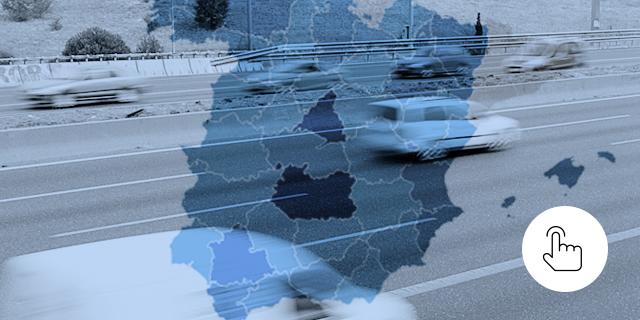 Los radares fijos, móviles y de tramo de España