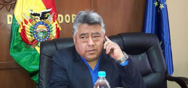 El viceministro de Régimen Interior, Rodolfo Illanes.