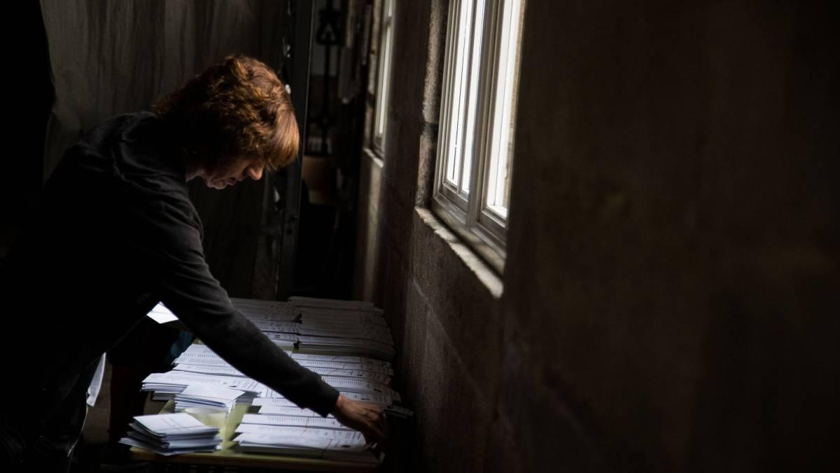 Las elecciones gallegas 2016, en imágenes