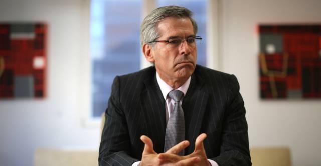 Yesid Reyes, en la embajada colombiana en Madrid.