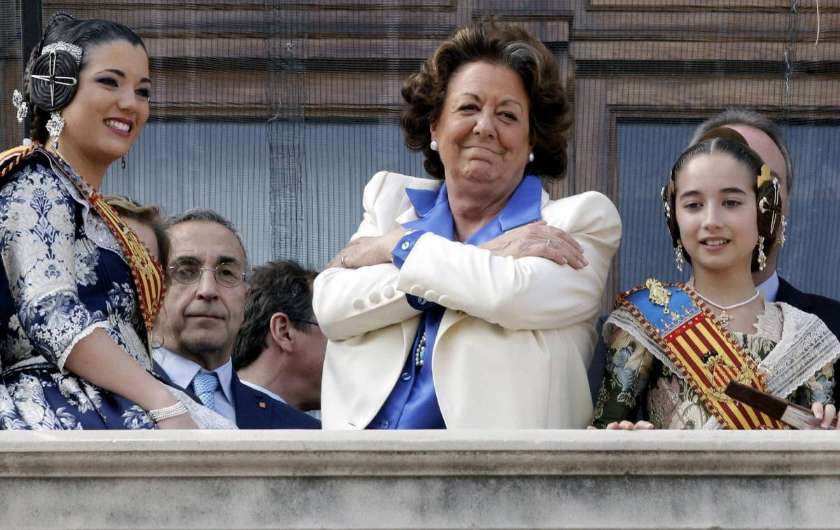 La exalcaldesa y senadora Rita Barberá.