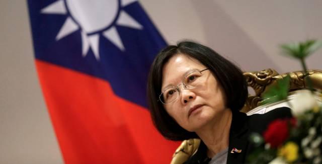 La presidenta de Taiwán, Tsai Ing-wen.