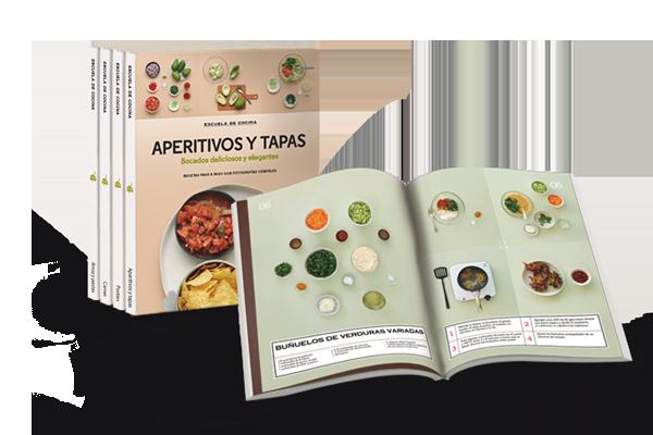Una gran colecci n con m s de 500 recetas con las que paso a paso te ir s convirtiendo en un - Libro escuela de cocina ...