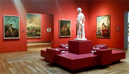 Sala de Goya en el Museo del Prado