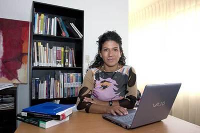 La abogada colombiana Mónica Roa, que ha logrado un fallo a favor de una despenalización parcial del aborto.