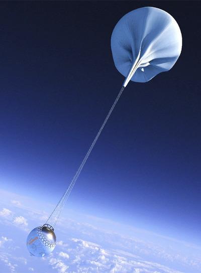 La aeronave hinchable podrá viajar a 70 kilómetros de la Tierra