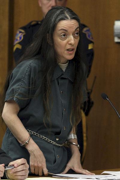 María José Carrascosa, durante la lectura de la sentencia que la condena a 14 años de cárcel