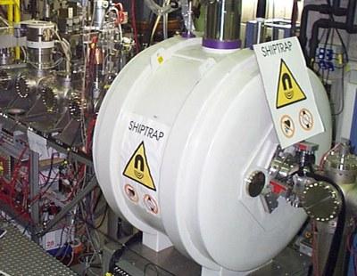 Instalación utilizada en el GSI para medir la masa del nobelio.