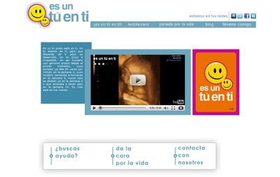 Imagen del portal de la campaña.
