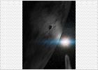 Un asteroide con agua helada y compuestos orgánicos