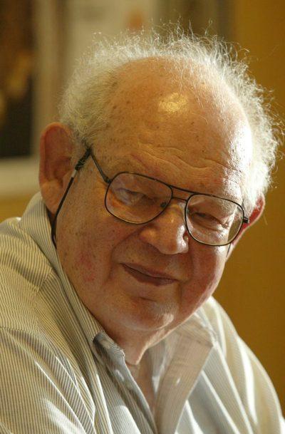 Benoit Mandelbrot, en una fotografía de 2006.