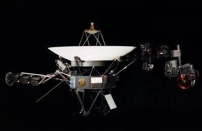 Ilustración de la nave 'Voyager 1'