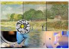 El amarillo de Van Gogh se reduce