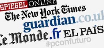 Los directores de 'The New York Times', 'The Guardian', 'Le Monde', 'Der Spiegel' y EL PAÍS debaten sobre periodismo