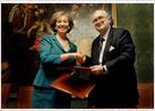 Bilbao y Milán sellan un pacto de colaboración institucional