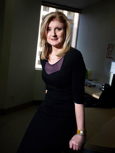 La periodista estadounidense Arianna Huffington, nueva consejera de EL PAÍS.