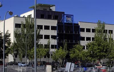 Sede de RTVE en Prado del Rey (Madrid)