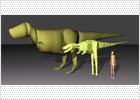 El tiranosaurio rex, pesado con alta tecnología