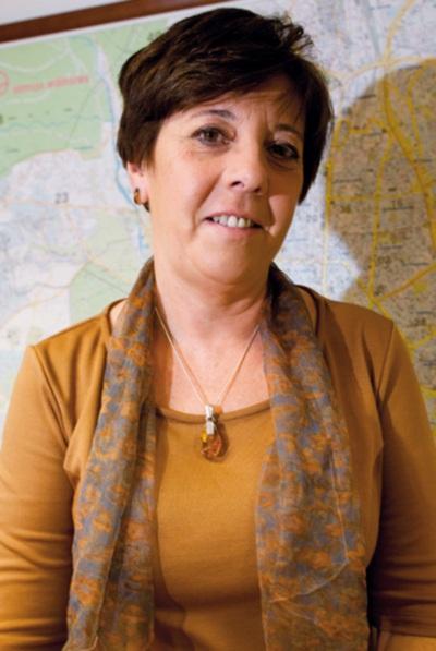 Retrato de la primera presidenta de la Asociación de la Prensa de Madrid.