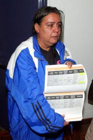 Norma Andrade, en una imagen de 2004.