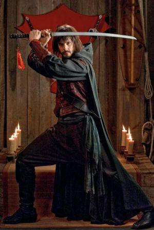 David Janer, el actor que interpreta a 'Águila Roja'.