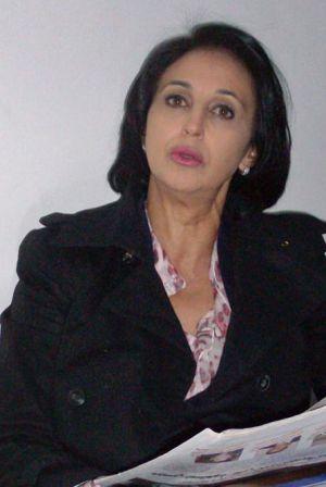"""Munib: """"Mi marido ha sacrificado su actividad política por mí""""."""
