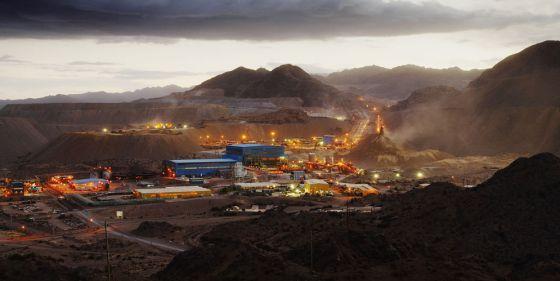 Mina de oro y cobre Bajo de la Alumbrera, en la provincia de Catamarca (Argentina), cuya explotación ha provocado protestas en la región por el riesgo medioambiental.