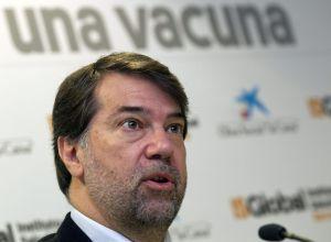 El director del Instituto de Salud Global de Barcelona, Pedro Alonso, ha presentado hoy en la capital catalana los últimos avances en la vacuna contra la malaria.