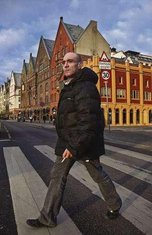 Manolo (45 años, de Petrer, Alicante) lleva dos meses buscando trabajo en Bergen (Noruega).