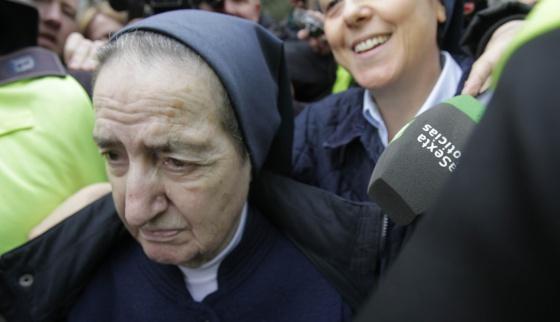 La monja que repartía bebés