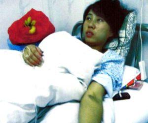 Feng Jianmei, la mujer obligada a abortar en el séptimo mes de gestación.