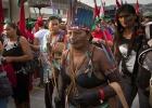 Miles de personas marchan en Río por la naturaleza y la igualdad