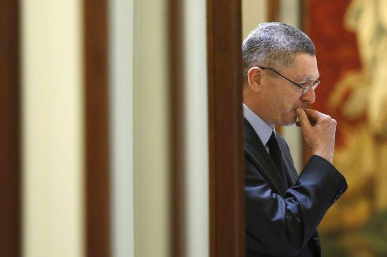 El ministro de Justicia, Alberto Ruiz-Gallardón.  Javier Lizón (Efe)