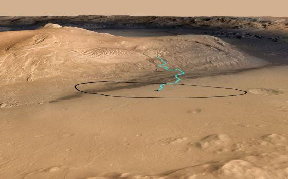 Marte era un mundo helado hace 370.000 años!