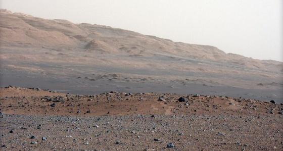 Foto de alta resolución de Marte.