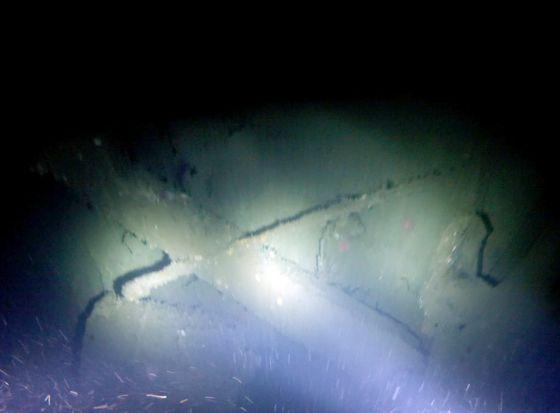 El naufragio del 'Terra Nova'.