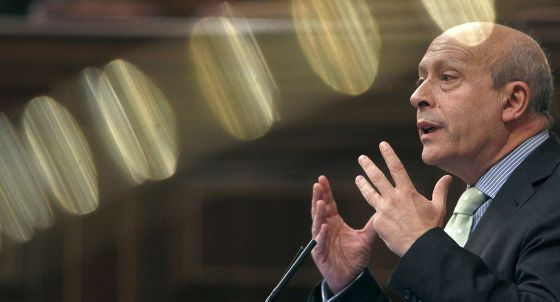 Wert, durante la sesión de control al Gobierno el miércoles.
