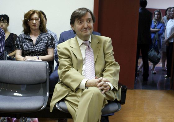 El exlocutor de la COPE, durante otro juicio por insultos en 2012.