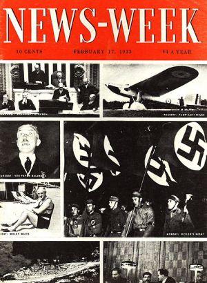 Primera portada de 'Newsweek', publicada el 17 de febrero de 1933.