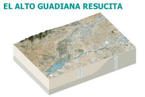 El Alto Guadiana vuelve a correr