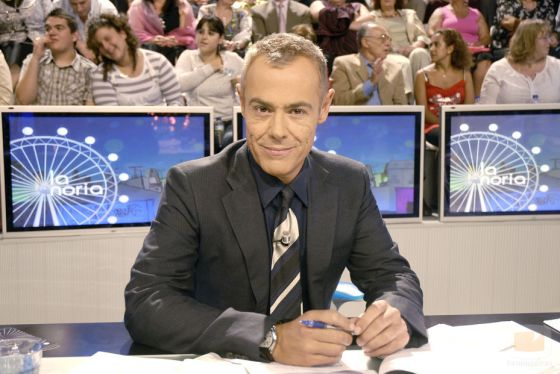 Jordi González, el presentador de 'La Noria'