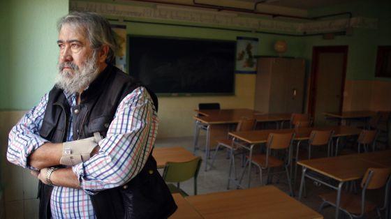 Rodolfo Mateos, cetedrático del instituto público Ribera del Tajo de Talavera de la Reina.