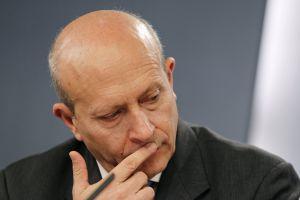El ministro de Educación, Juan Ignacio Wert.
