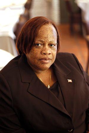 Julia Duncan Cassell, ministra de Género y Desarrollo de Liberia.