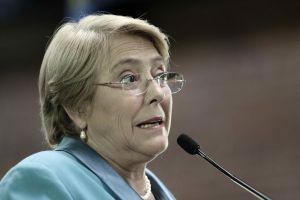 La directora ejecutiva de ONU Mujeres, Michelle Bachelet.