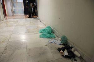El impago de la Administración ha provocado una huelga de limpieza en el  hospital de Alicante.