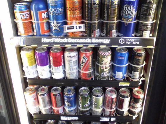 Bebidas energéticas.