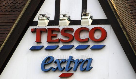 Uno de los supermercados Tesco, al sur de Londres.